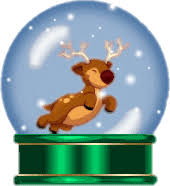 free animated snow globe clip