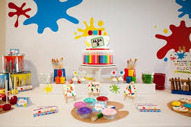 Mister Maker Art Party Anders Ruff Custom Designs Llc