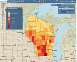 Kohler Wisconsin Map by Wi Well Water Viewer Center For Watershed Science And Education