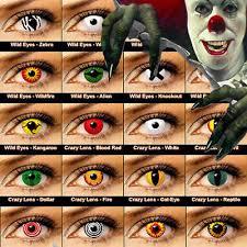 crazy halloween contact lenses kontaktlinsen color contact lens