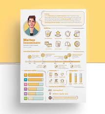 infographic resume templates graphic resume templates fresh graphic designer resume template