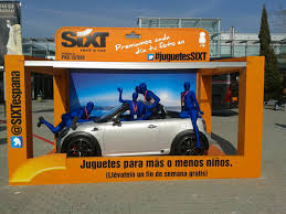 rent a corvette for the weekend sixt rent a car was present at the fitur madrid 2013