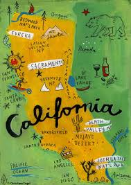 california map project california map postcards of the 50 states project christiane