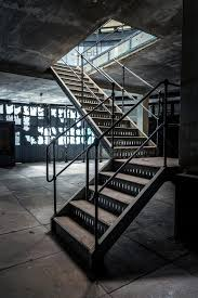 Industrial Stairs Design Closeup Photo Of Industrial Stairs Stock Image Image Of