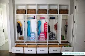 Laundry Bench Height My New Organized Mudroom The Sunny Side Up Blog
