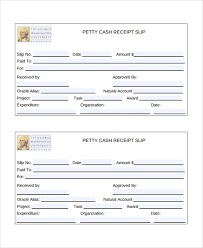salary receipt template sample cash slip template 7 free documents download in word pdf