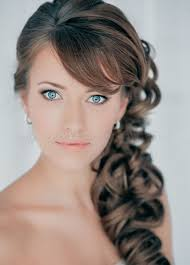 prom hairstyles side curls curly side ponytail wedding hairstyles popular long hairstyle idea