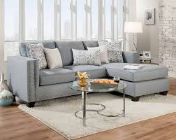 mode gray 2 pc sectional sofa american freight
