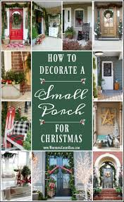 how to decorate a small porch for christmas worthing court