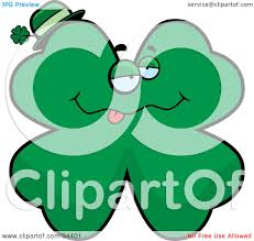 royalty free rf clipart illustration of a drunk st patrick u0027s day