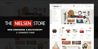 nielsen e commerce wordpress theme by sara p themeforest