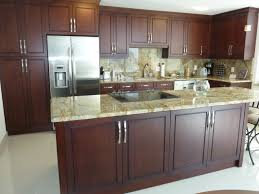 poplar wood kitchen cabinets stained cherry kitchen