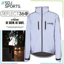 windproof cycling jackets mens proviz reflect 360 windproof cycling jacket medium silver ebay