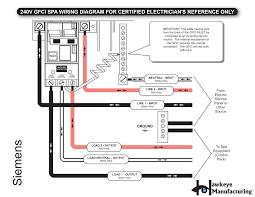 spa gfci wiring diagram spa wiring diagrams instruction