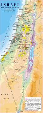 sheva israel map map of israel by carta