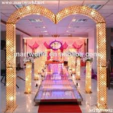 Pillars And Columns For Decorating 2017 Led Rgb Light Crystal Pillars Columns Wedding Stage