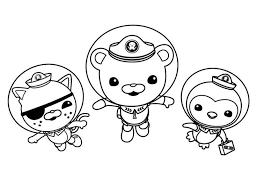 octonauts coloring pages print photo 188211 gianfreda net