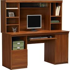 wood computer desk with hutch incredible all wood computer desk solid design new real 9 designs
