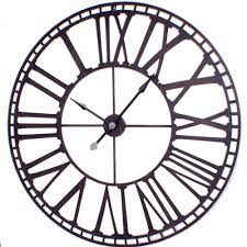 home design large wall clocks infinity instruments ltd inside