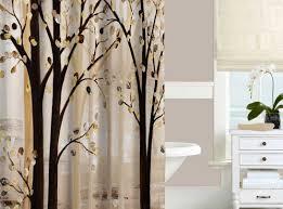 Modern Bathroom Shower Curtains - shower black and brown shower curtains savouring shower curtains