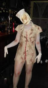 Silent Hill Nurse Halloween Costume Silent Hill Nurse Pyramid Head U0027couples U0027 Costume
