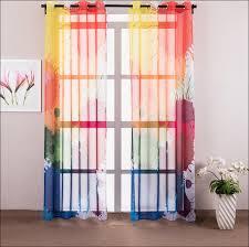 Bright Colored Kitchen Curtains Kitchen Orange And White Curtains Spice Colored Curtains Spice