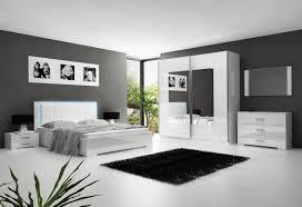 chambre a coucher blanc laqué chambre adulte avec eclairage idées décoration intérieure farik us