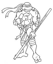 free teenage mutant ninja turtles coloring pages print