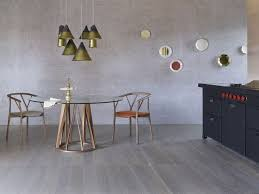 Wood And Glass Dining Table Round Glass Dining Tables That Make A Stylish Impression