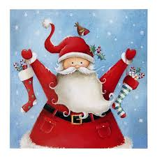 santa claus is coming to town charity christmas cards marie