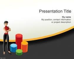 free women business plan powerpoint template
