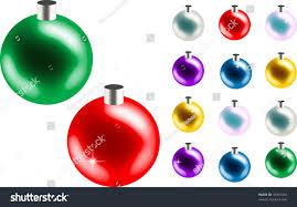 bulk christmas ornaments stock vector 18301702 shutterstock