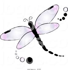 simple dragonfly drawing whimsical dragonfly silhouette ii