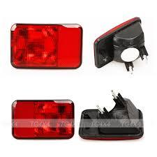 jeep wrangler brake light cover rear bumper fog light cover assembly for jeep wrangler 08 15 fog