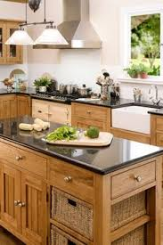 Freestanding Kitchen Cabinet Freestanding Kitchen Cabinets Natural Wood With Farmhouse Sink
