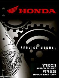 2010 2017 honda vt750c2 shadow spirit motorcycle service manual