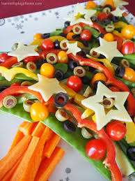 learn with play at home healthy veggie tree platter