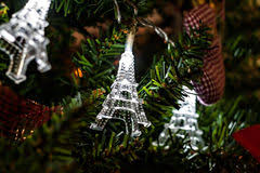 eiffel tower christmas ornament stock photos images u0026 pictures