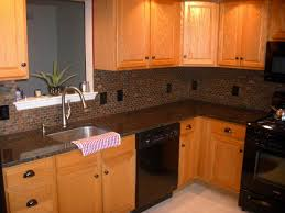 Baltic Brown Granite Countertops With Light Tan Backsplash by Kitchen Kitchen Venetian Gold Granite Composite Countertops Red