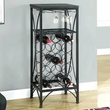 metal wine rack floor large image for wood wall wine rack full