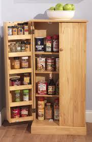 oak kitchen pantry cabinet adorable freestanding kitchen pantry storage ideas with cabinets
