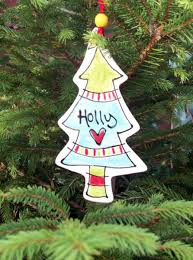 personalised christmas tree decorations loubilou