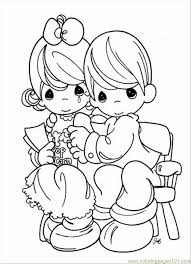 precious moments christmas coloring pages free kids coloring