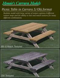 Firepit Grille Picnic Table And Pit Grille 3d Models And 3d Software By Daz 3d