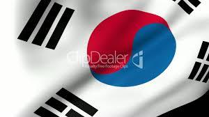 South Korea Flag South Korea Flag Waving Royalty Free Video And Stock Footage