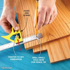 How To Scribe Laminate Flooring Measuring Tips And Techniques For Diyers Family Handyman