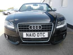 used audi a5 s line for sale used audi a5 car 2010 black diesel 2 0 tdi s line convertible for