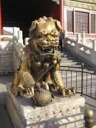 shishi statue shishi or guardian lions travel in heels