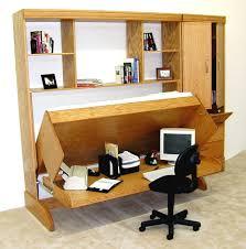 murphy bed with desk image ikea hack the murphy beddesk nice
