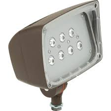 Outdoor Led Flood Lights by Lithonia Lighting D Series Dark Bronze Cast Aluminum Outdoor Led